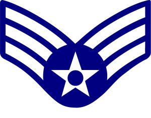 E-4 Air Force Chevron